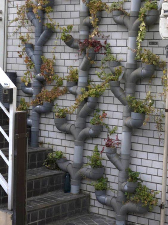 Galleria foto - Giardini pensili con fioriere verticali Foto 5