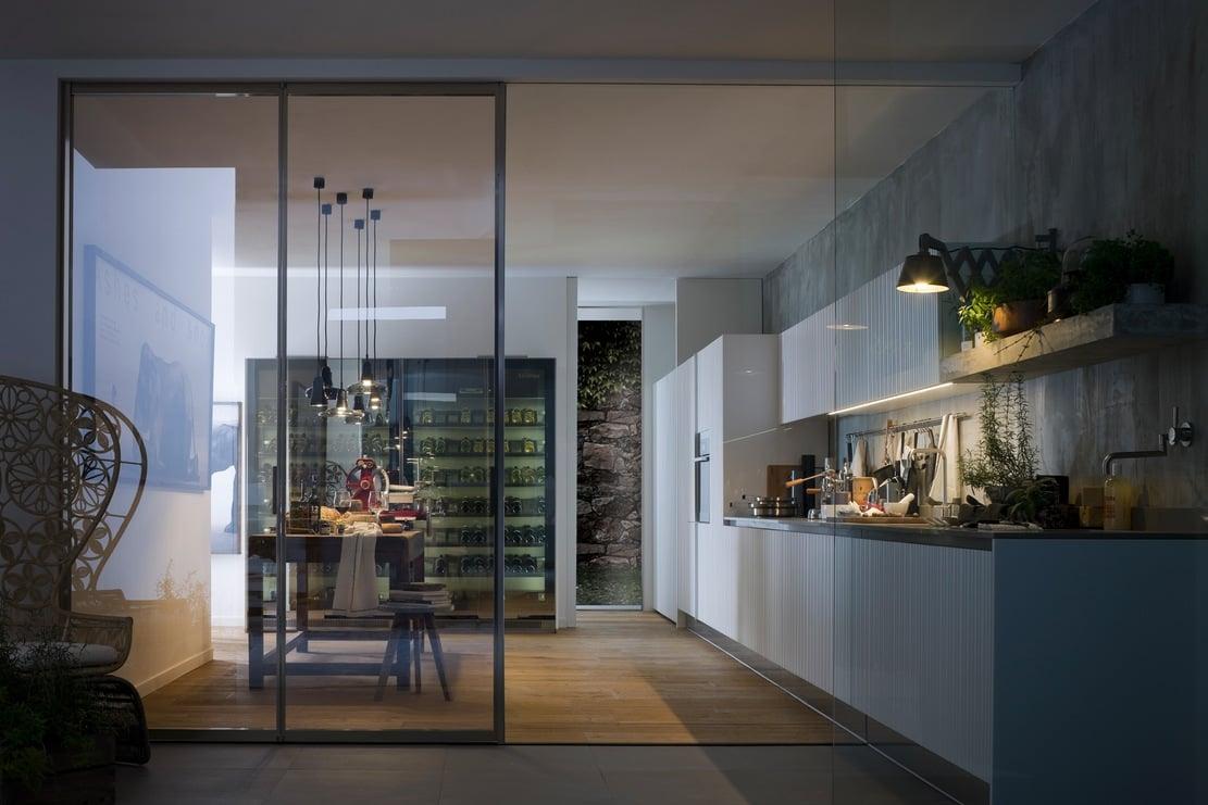 Illuminare la cucina - Come disporre la cucina ...