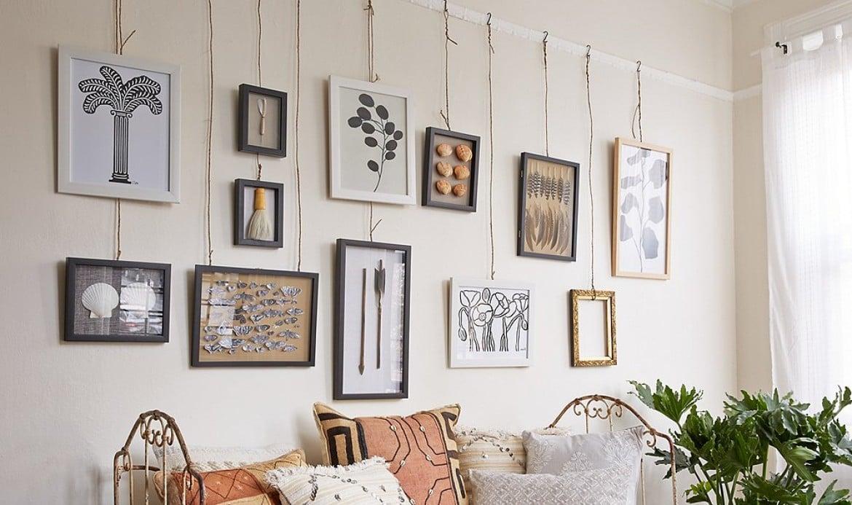 Lettere Da Appendere Al Muro come appendere le foto alle pareti?