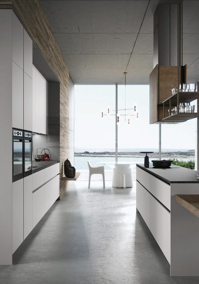 Cucina piano di lavoro ideale - Cucina con isola ...