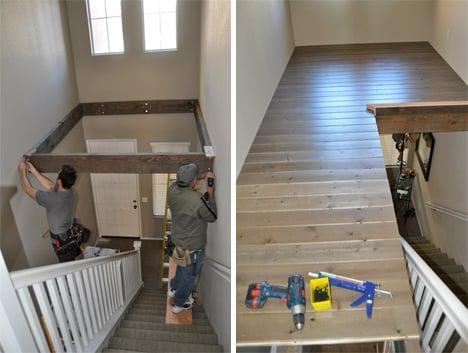 Galleria foto - Soppalco in legno come realizzarlo Foto 1