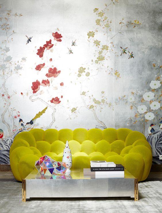 Galleria foto - Color giallo abbinamenti arredo Foto 31