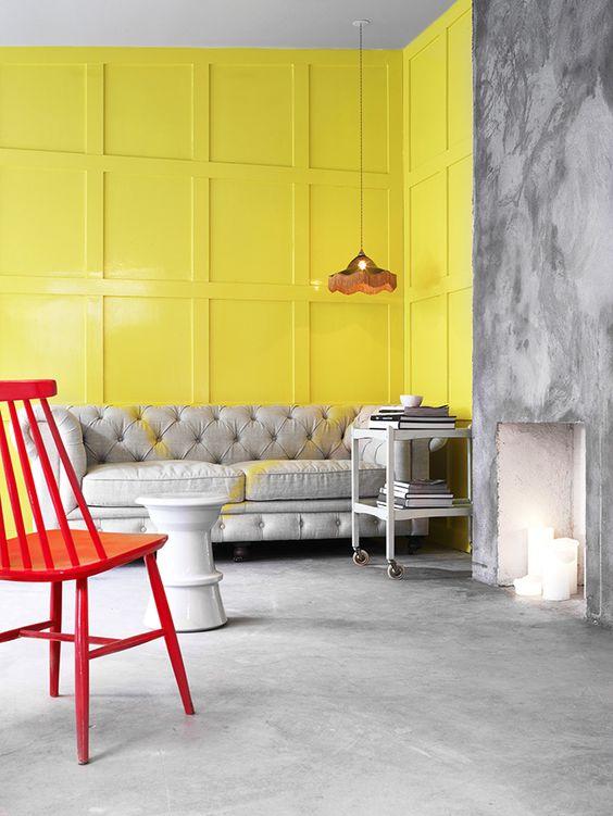 Galleria foto - Color giallo abbinamenti arredo Foto 55