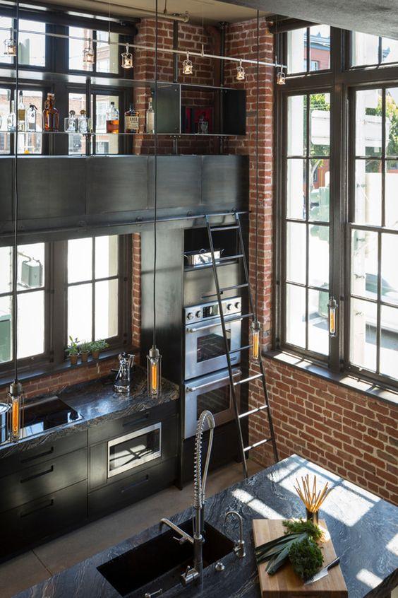 loft-cucina