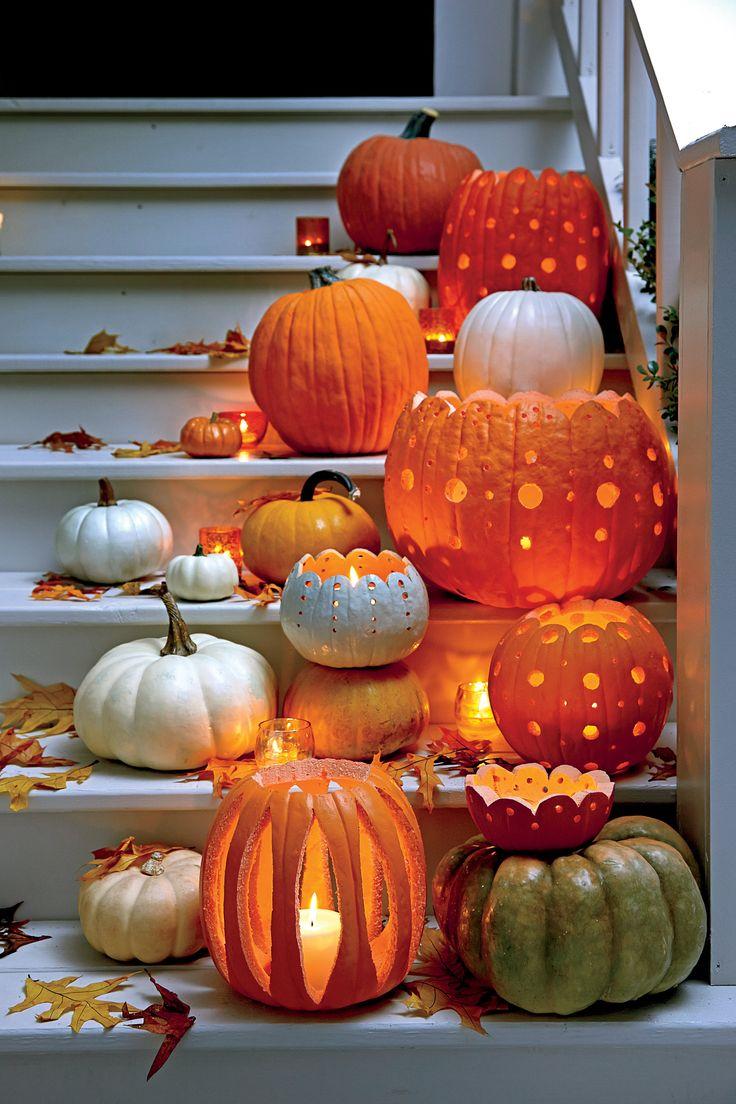 decorazioni zucche halloween