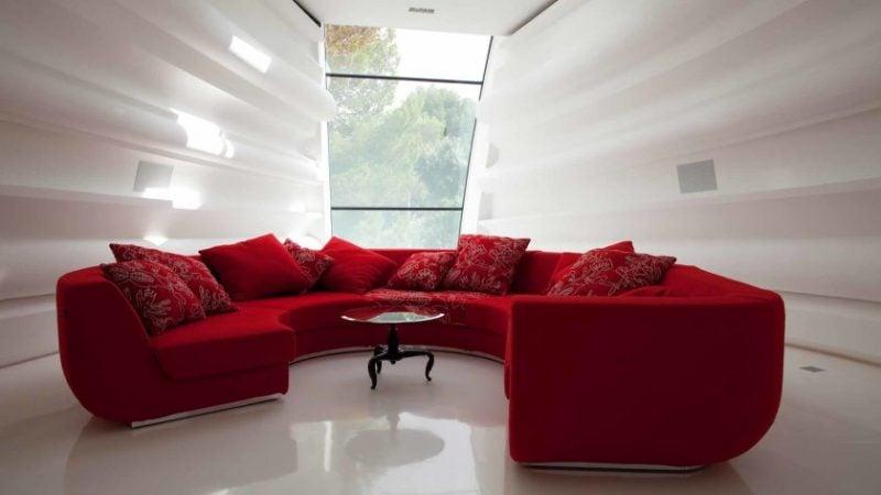 Divano Rosso E Nero : Justyou paris i divano angolare nero rosso divani angolari