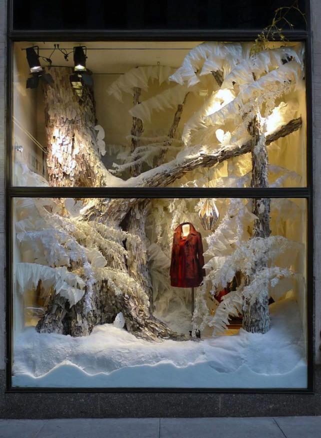 Favoloso Addobbi natalizi per negozi CX52