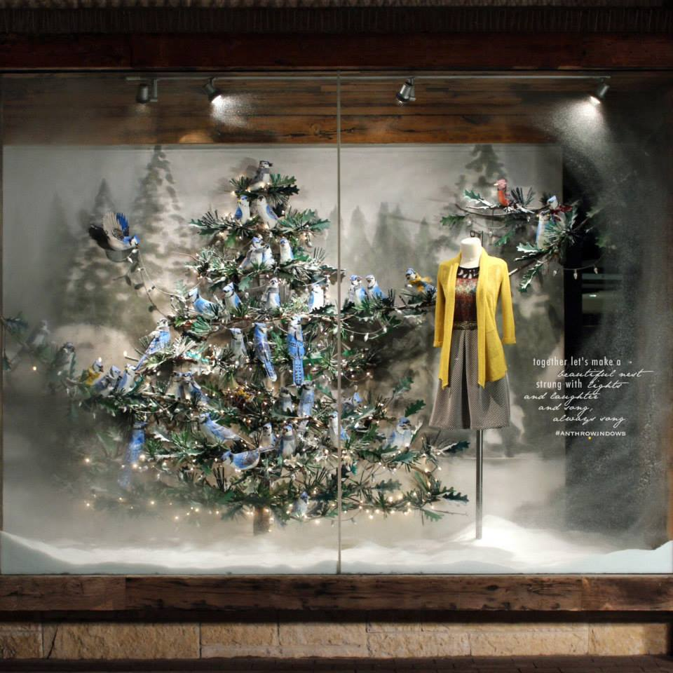 Vetrine Di Natale Abbigliamento.Addobbi Natalizi Per Negozi
