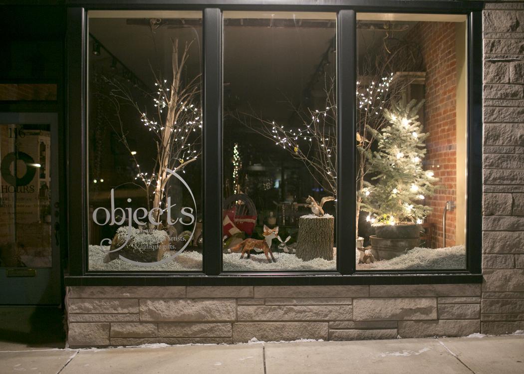 Addobbi natalizi per negozi for Negozi design