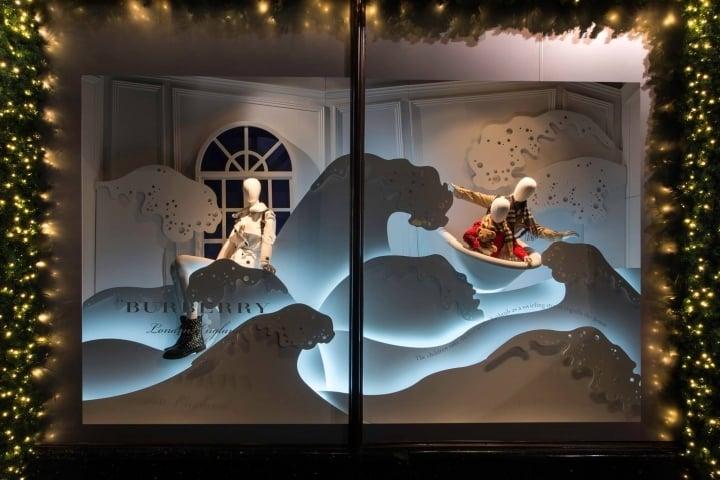Ben noto Addobbi natalizi per negozi TU17