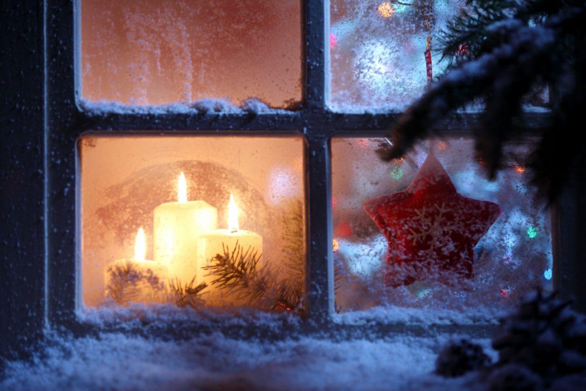 Decorazione Finestre Per Natale : Decorazioni natalizie per finestre fai da te