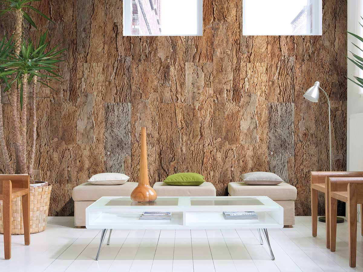 Sughero per pareti e pavimenti