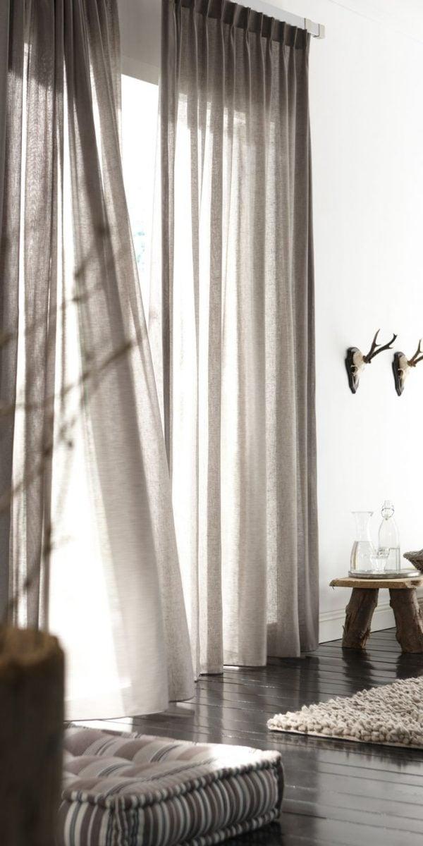 tende casa ultime tendenze - Tende Soggiorno 2014 2