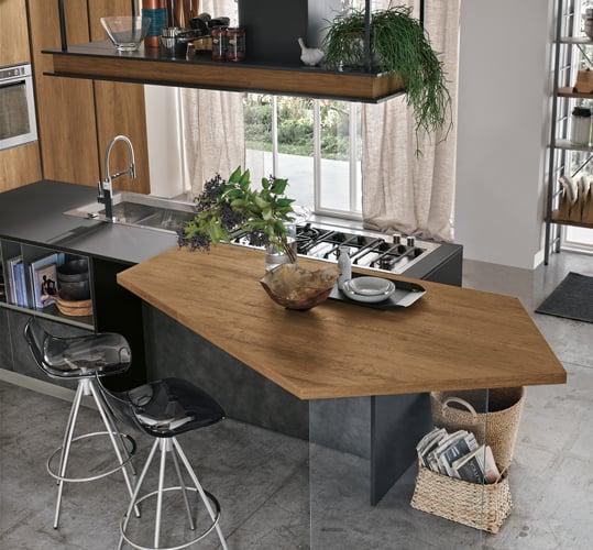 Cucina Piano Lavoro.Cucina Piano Di Lavoro Ideale