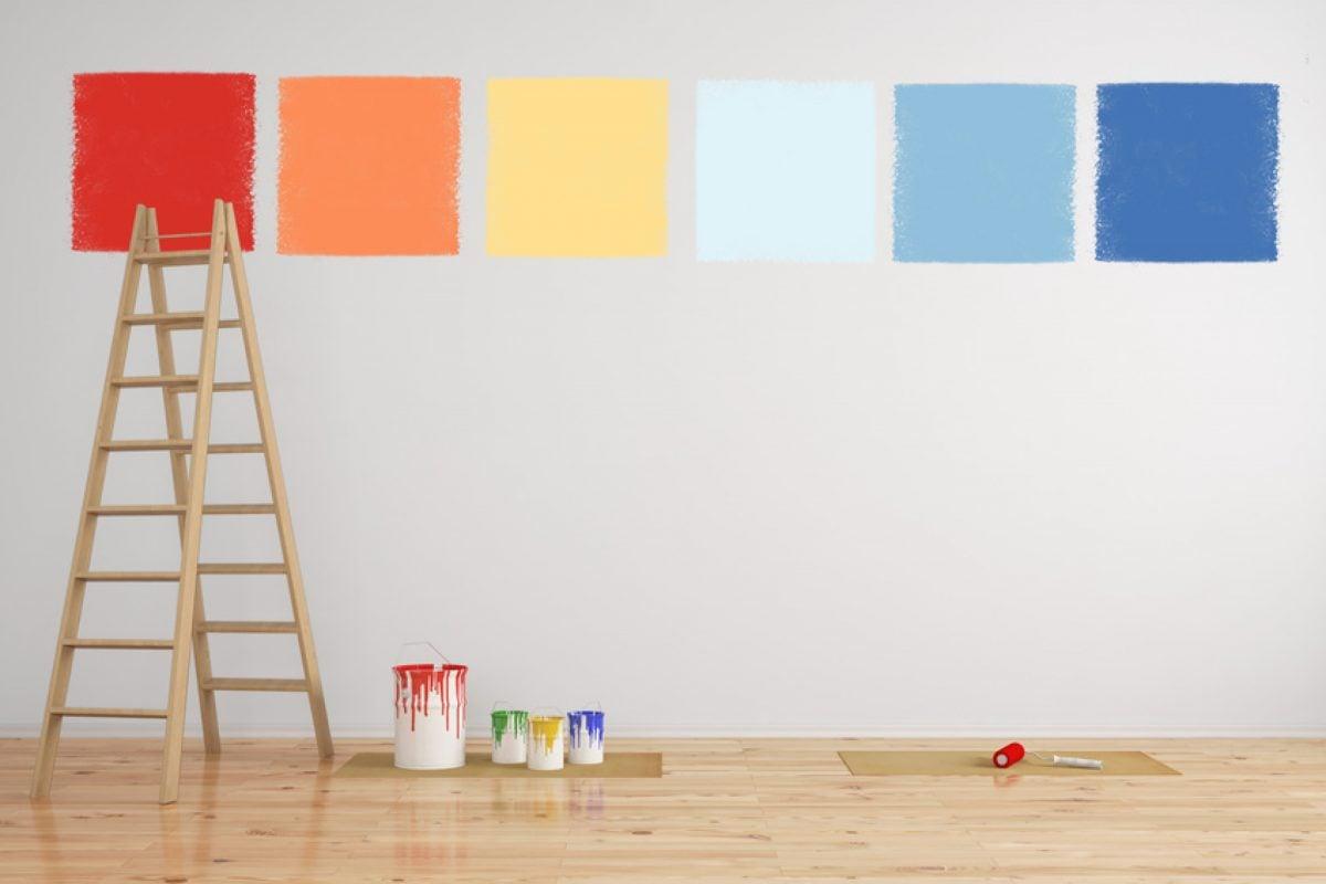 Come Dipingere Le Pareti Di Una Scala Interna colori pareti come dipingere tinteggiare casa