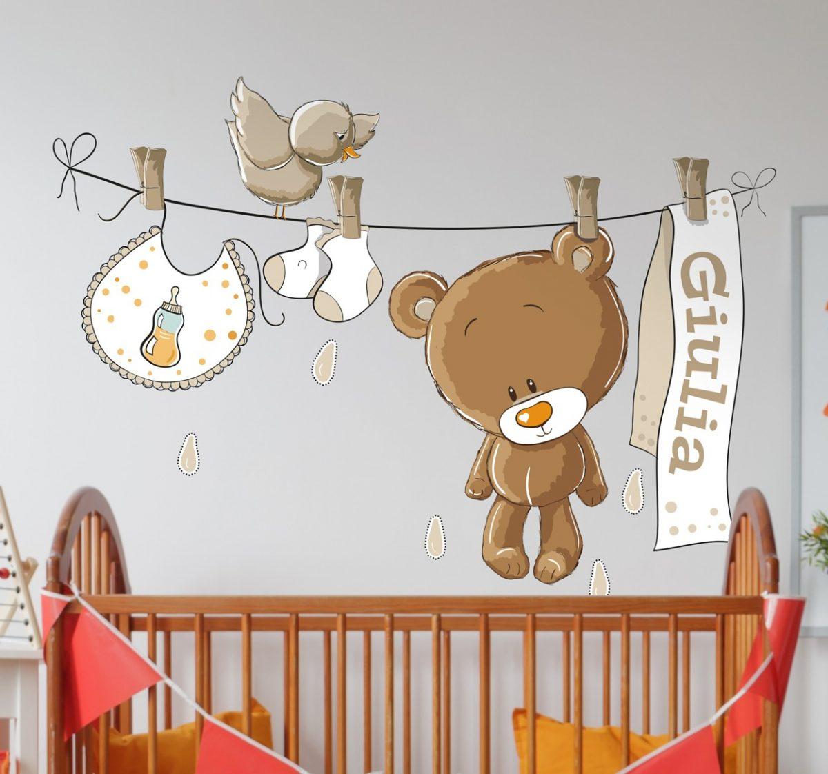 Stickers per la cameretta dei bambini for Stickers pareti