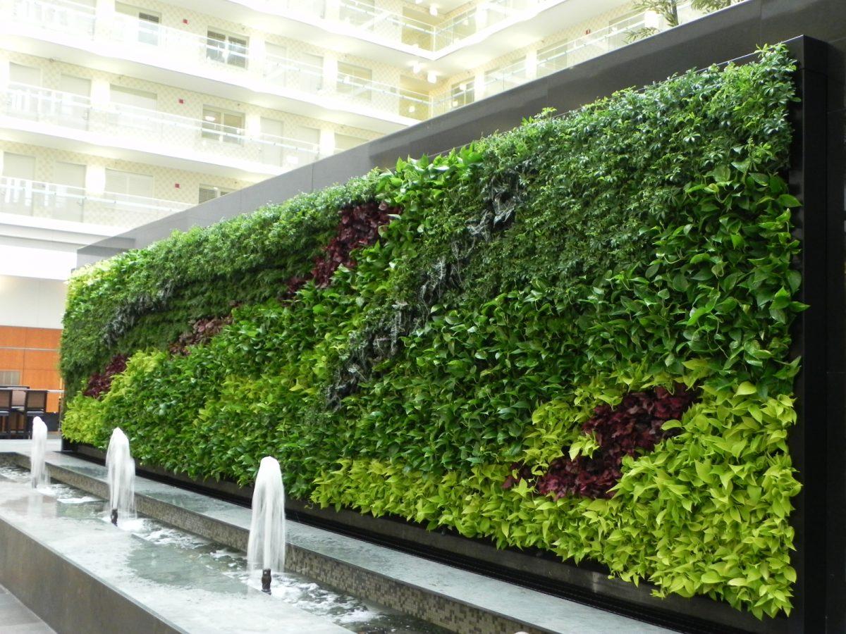 Giardini verticali esterni - Pannelli per giardini verticali ...