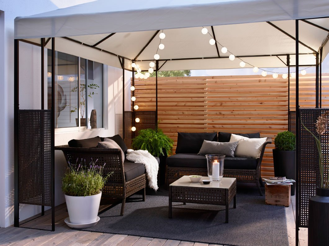 Ikea giardino catalogo estivo 2017 - Arredo terrazzo ikea ...