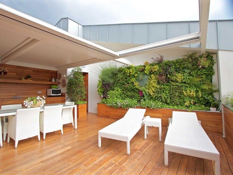 Galleria foto - Giardini esterni verticali Foto 19