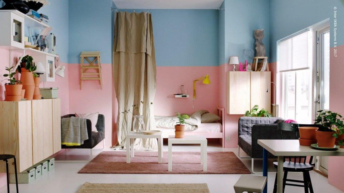 Casa arredata con mobili ikea for Ikea mobili camera