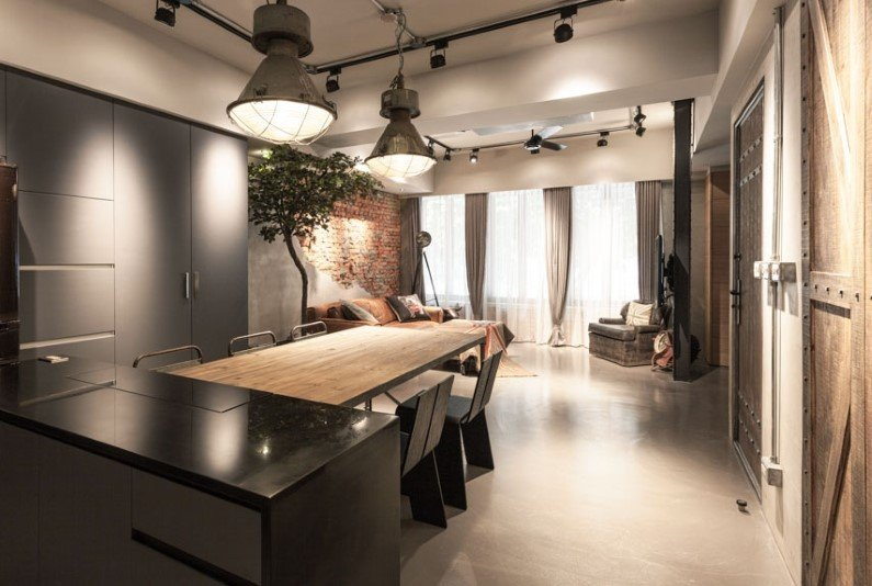 tavolo-cucina-stile-industriale