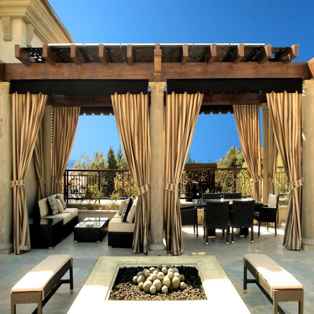 Tende da esterni balconi giardini e terrazzi for Gazebo da terrazzo