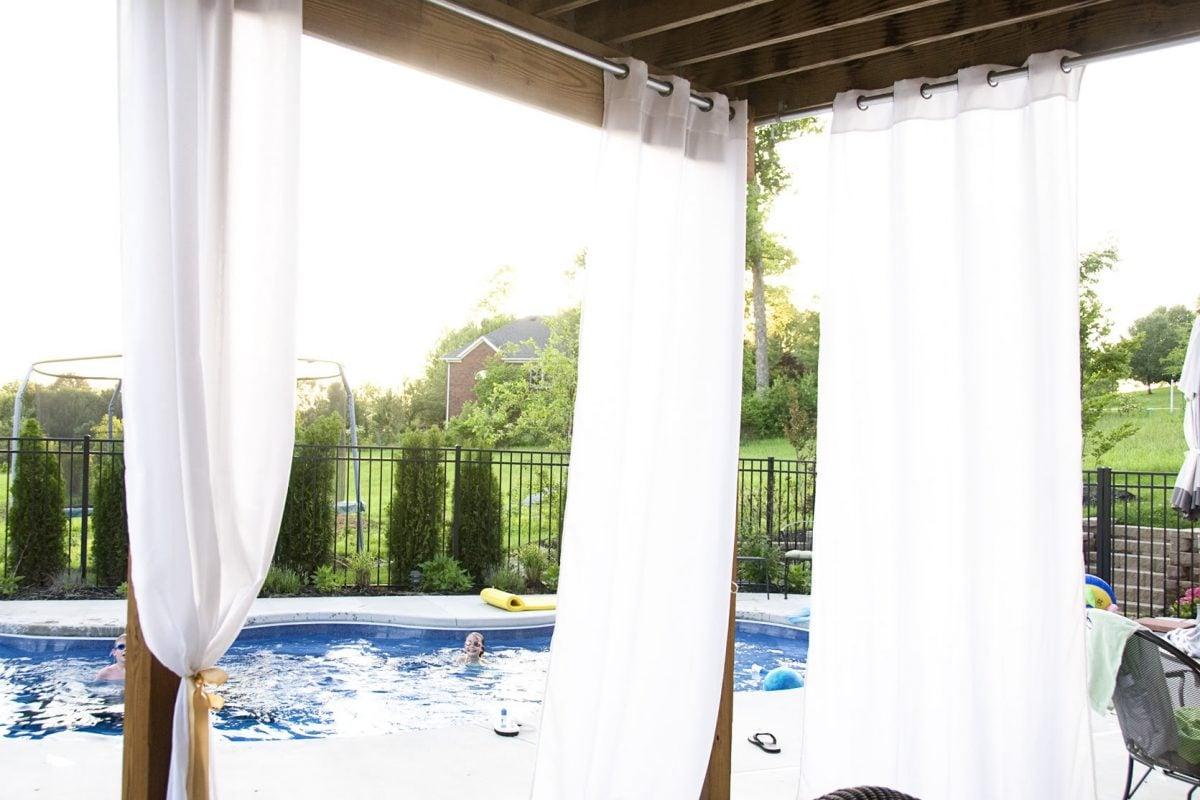 Paravento In Legno Per Esterni tende da esterni: balconi, giardini e terrazzi