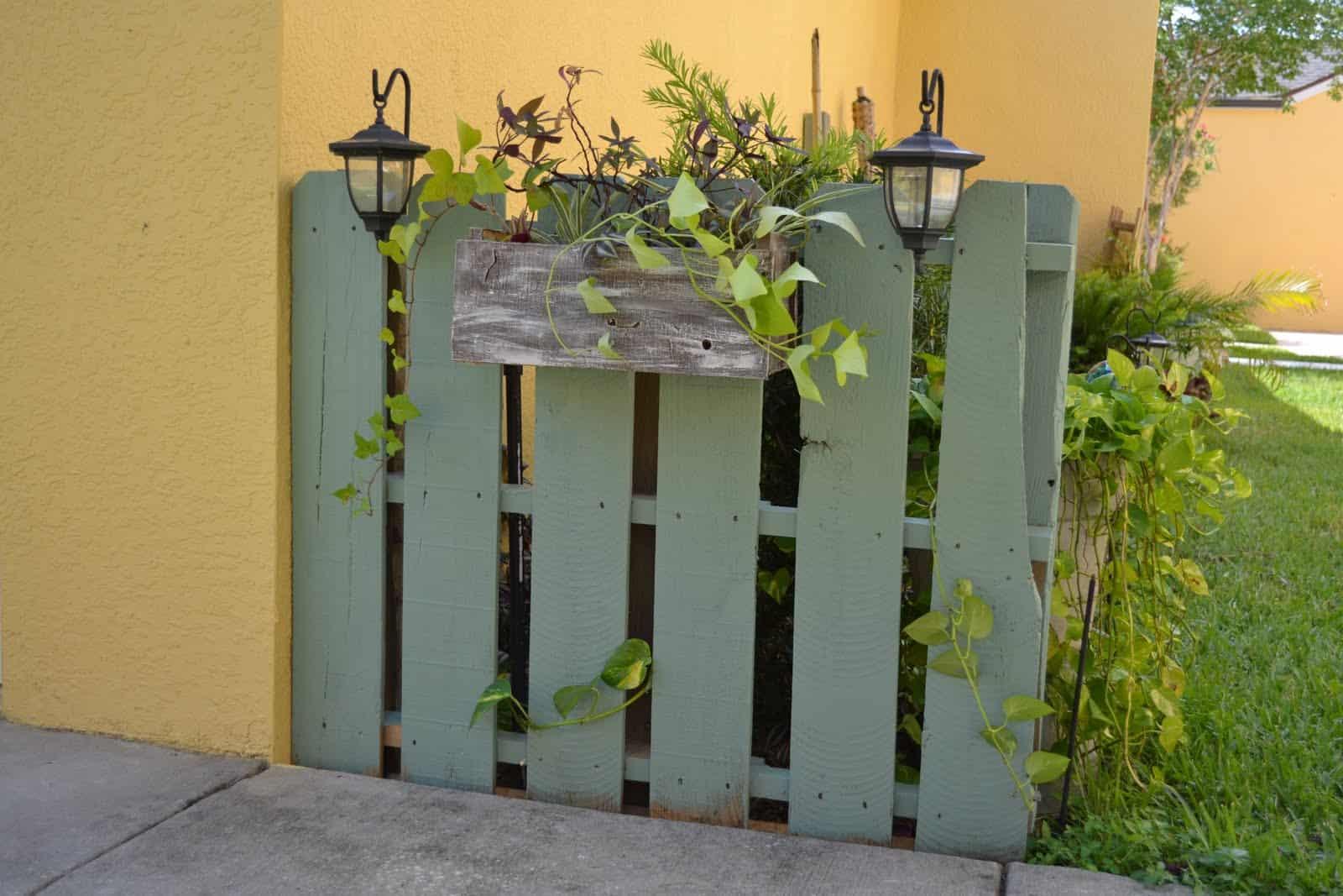 Legno Idee Fai Da Te idee da copiare recinzioni in legno fai da te con pallet