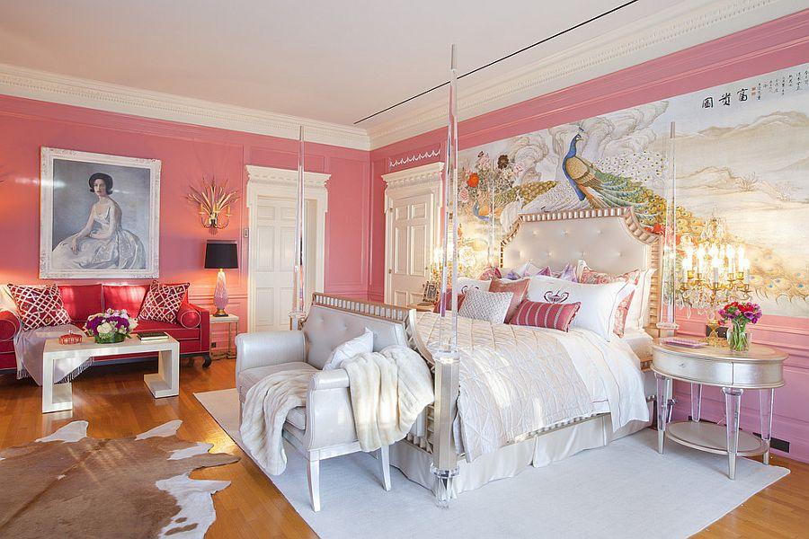 Stanza Da Letto Rosa : Colore rosa antico