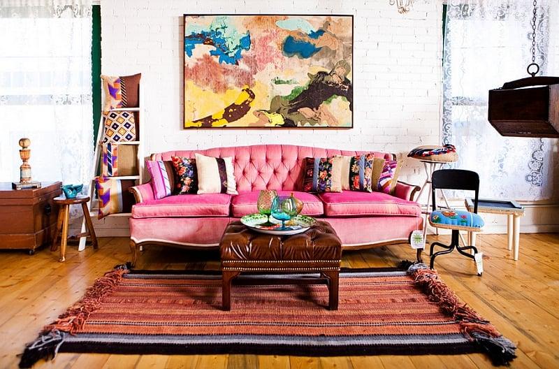 salotto-bohemian-color-rosa-antico