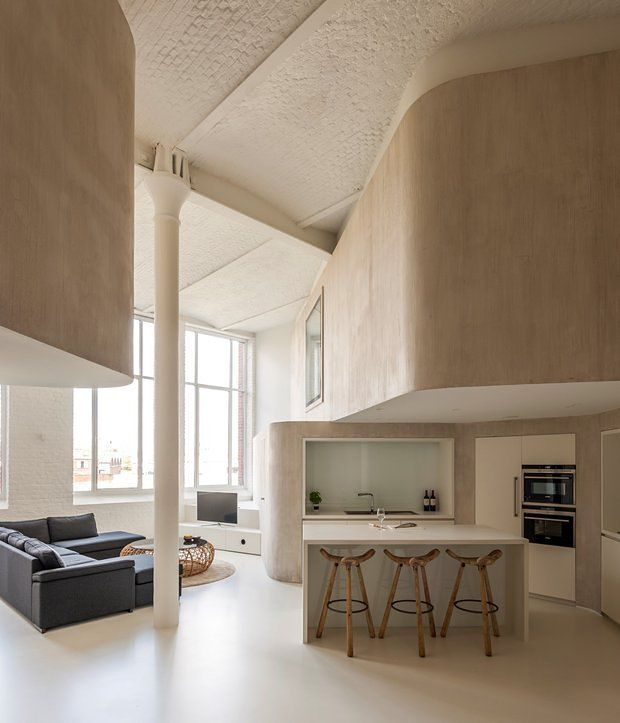 cucina-pareti-curve-cartongesso