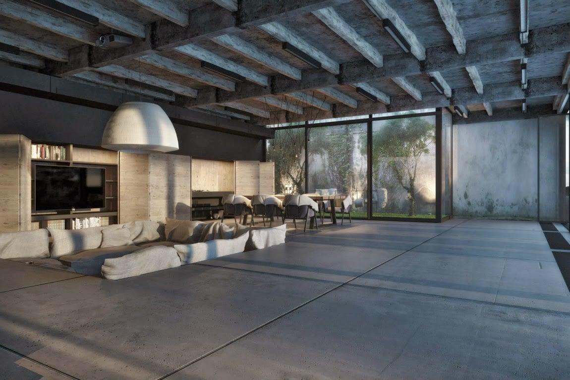 pavimento-cemento-soggiorno