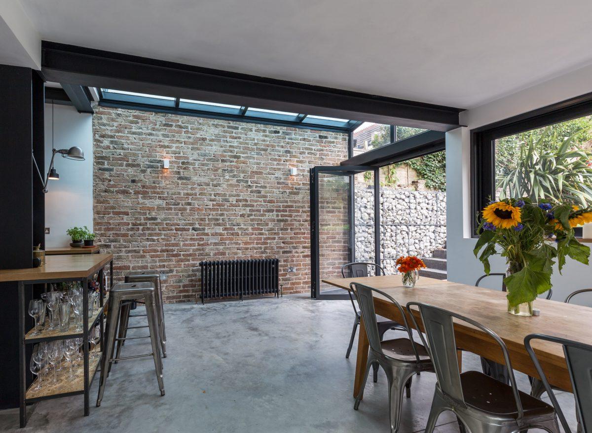 Pavimento stile industriale for Diversi design per la casa