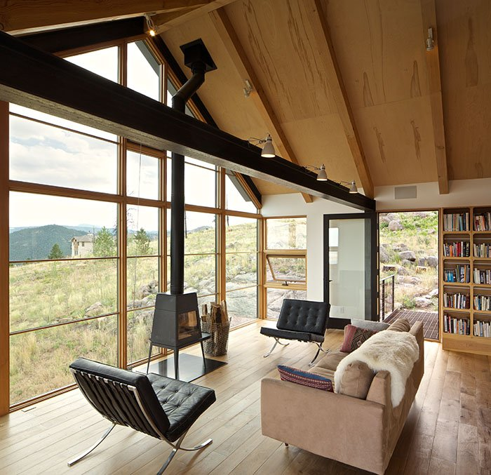 Sunshine Canyon House. Renée Del Gaudio Architecture.
