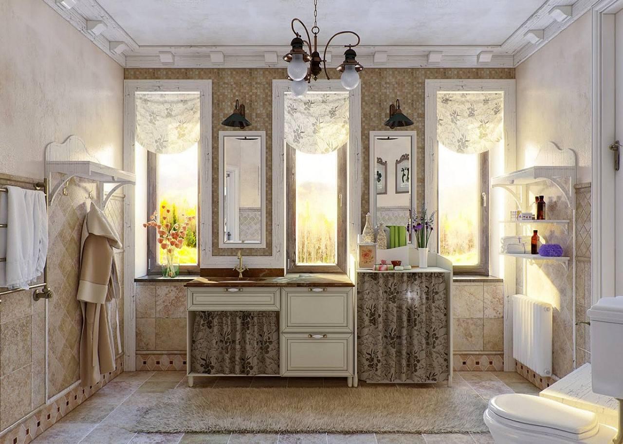 Bagno in stile provenzale