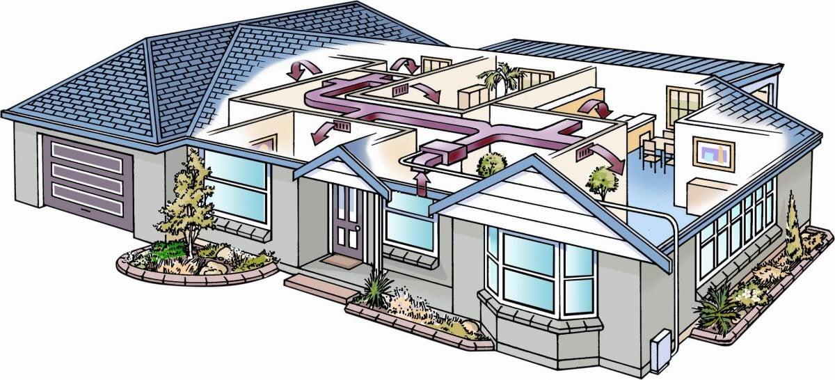 Controsoffitto tecnico con impianto climatizzato nascosto - Impianto hi fi casa consigli ...