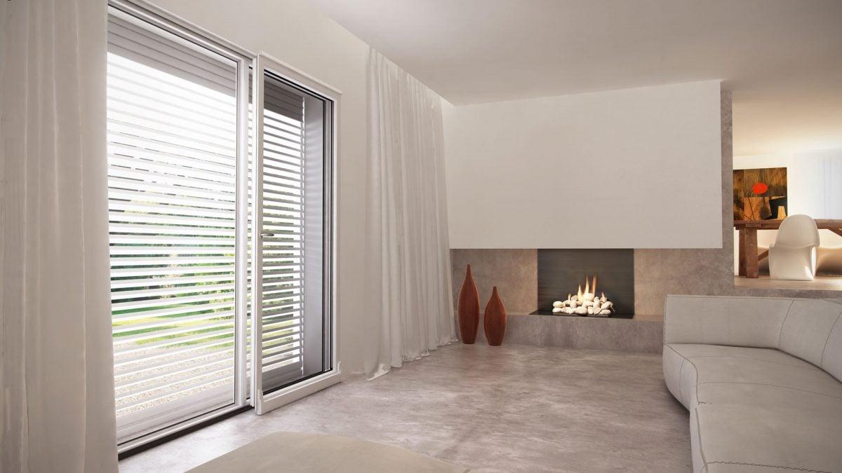 Tapparelle orientabili - Aprire finestra muro esterno ...