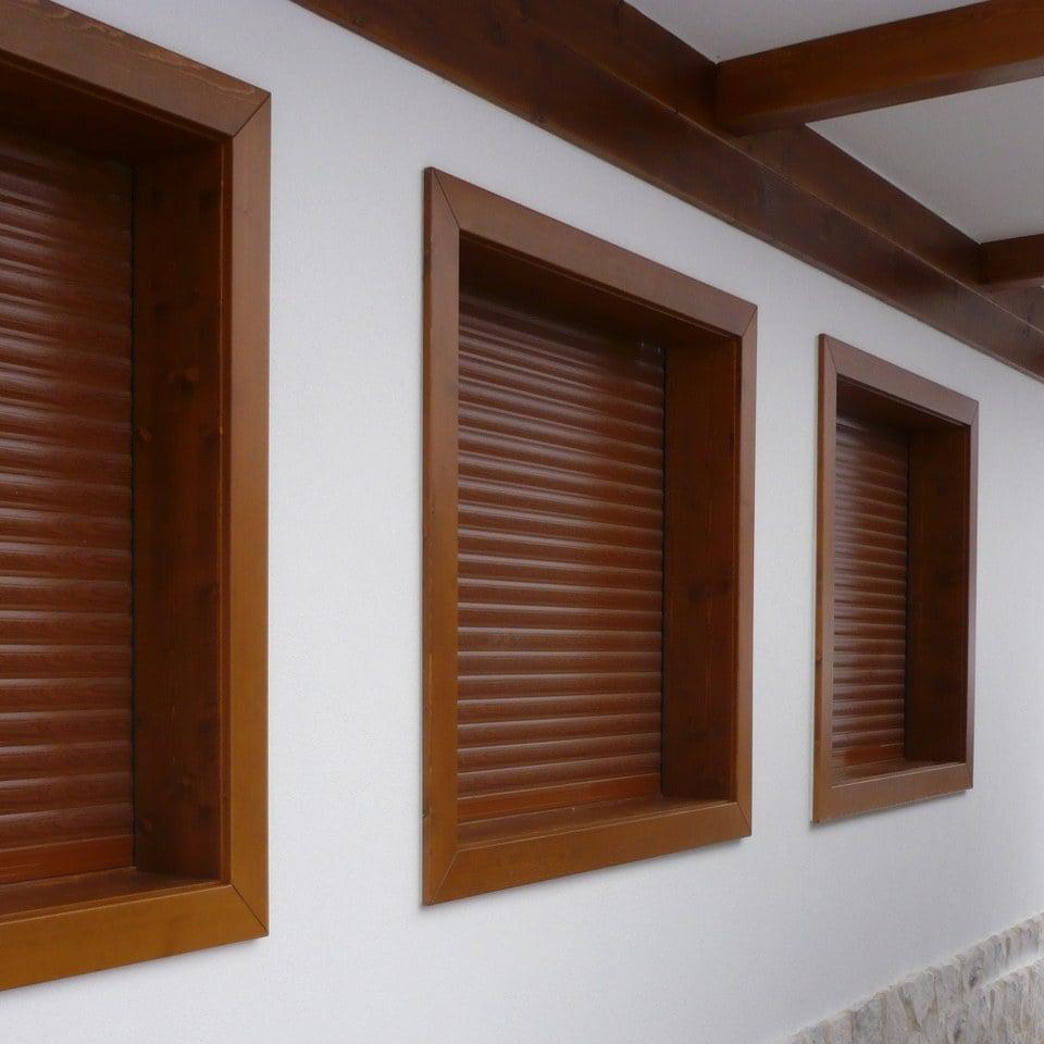 Tapparelle orientabili - Imbotti in alluminio per finestre ...
