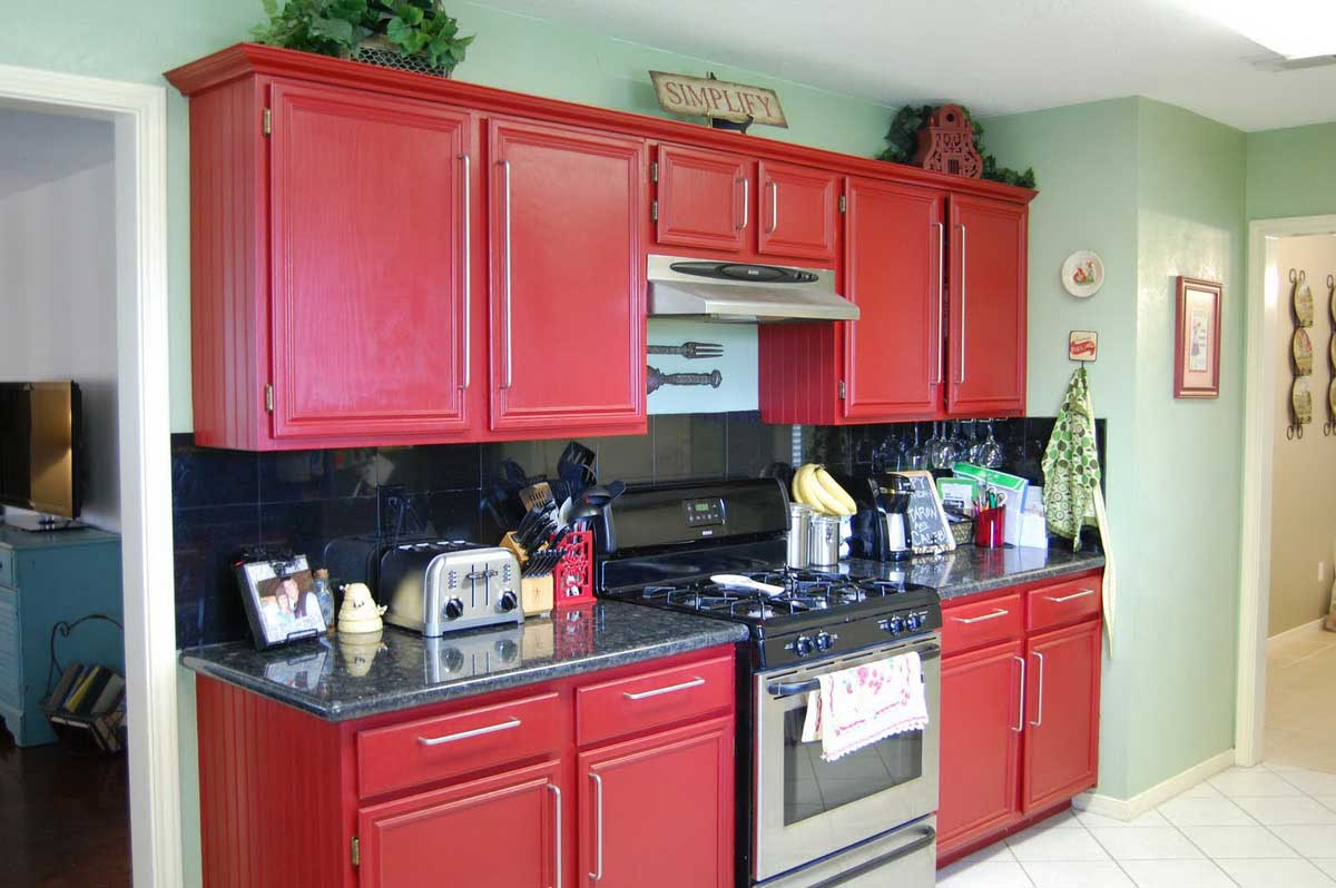 cucina-piccola-rossa