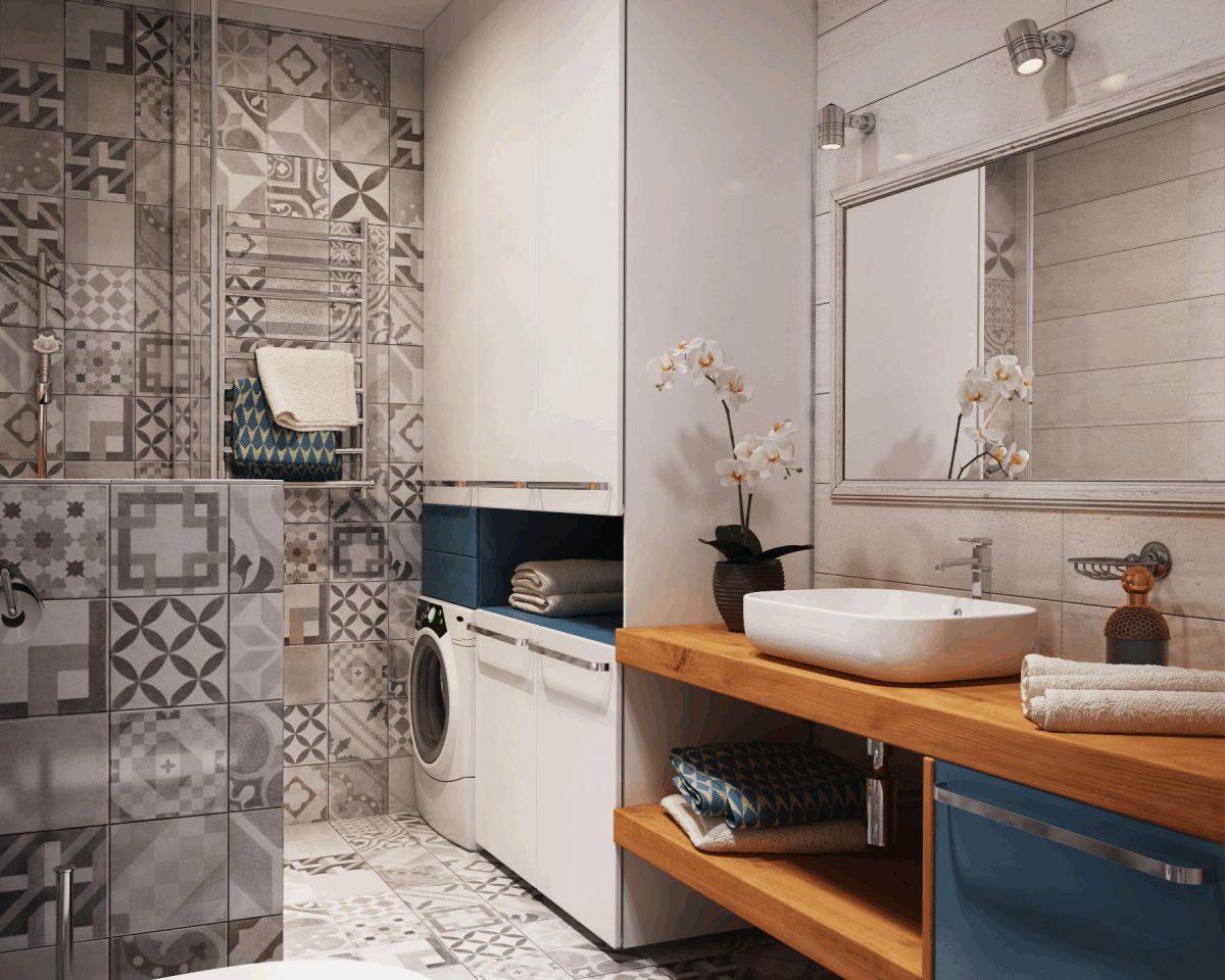 Bagno lavanderia - Bagno e antibagno ...