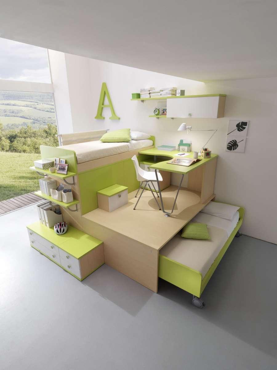 Soluzioni salvaspazio per camerette for Chateau d ax letti in offerta