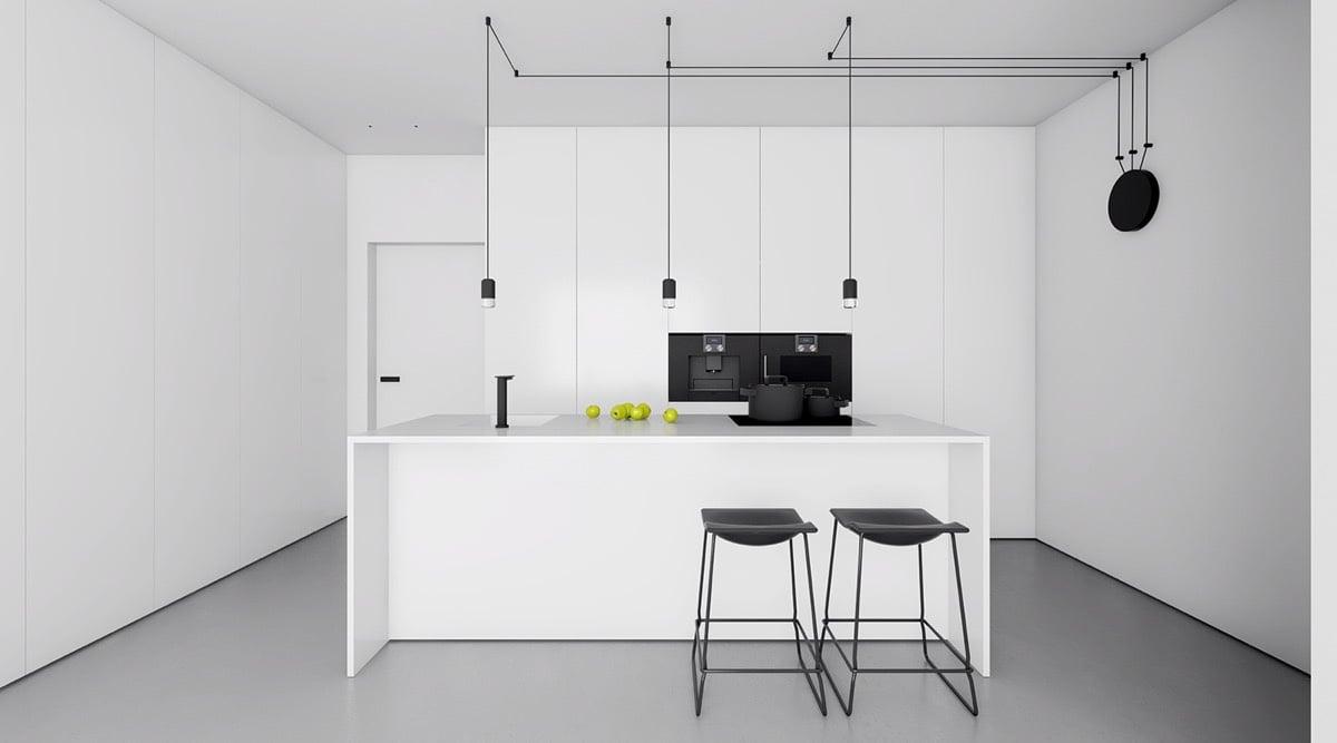 colore-bianco-cucina-lampade