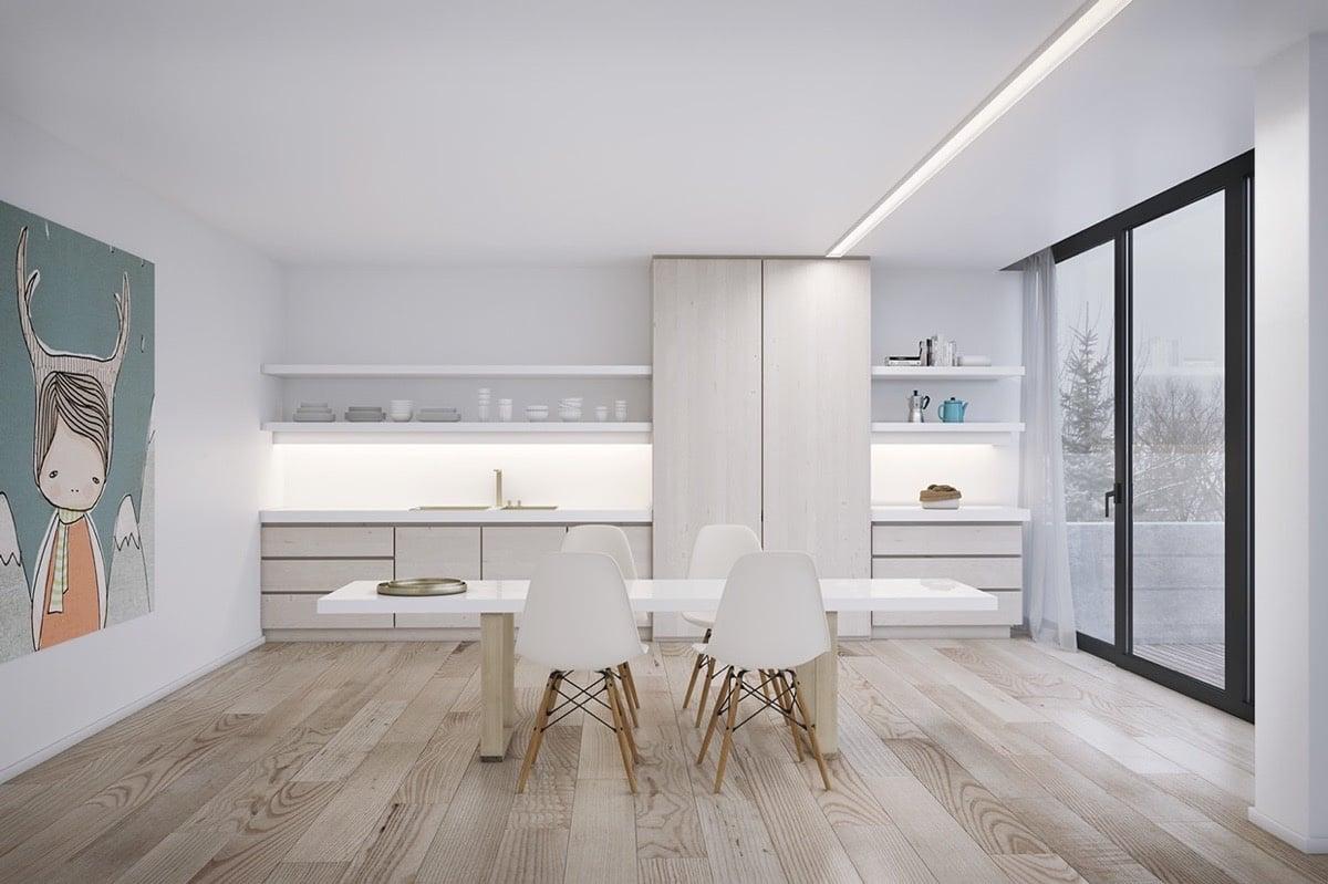 Come arredare sala da pranzo moderna idee for Stanza da pranzo moderna