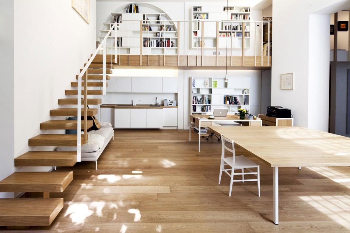 soppalco-scalinata-legno