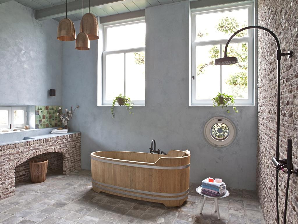 arredamento-stile-country-bagno