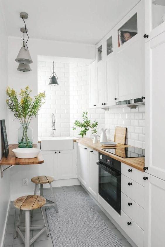 Arredare cucina piccola - Arredare cucina piccola rettangolare ...