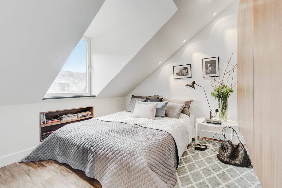 arredare-sottotetto-camera-letto-nordico