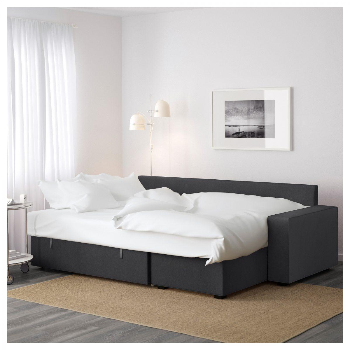 Ottimizzare spazio camera da letto - Divano letto aperto ...