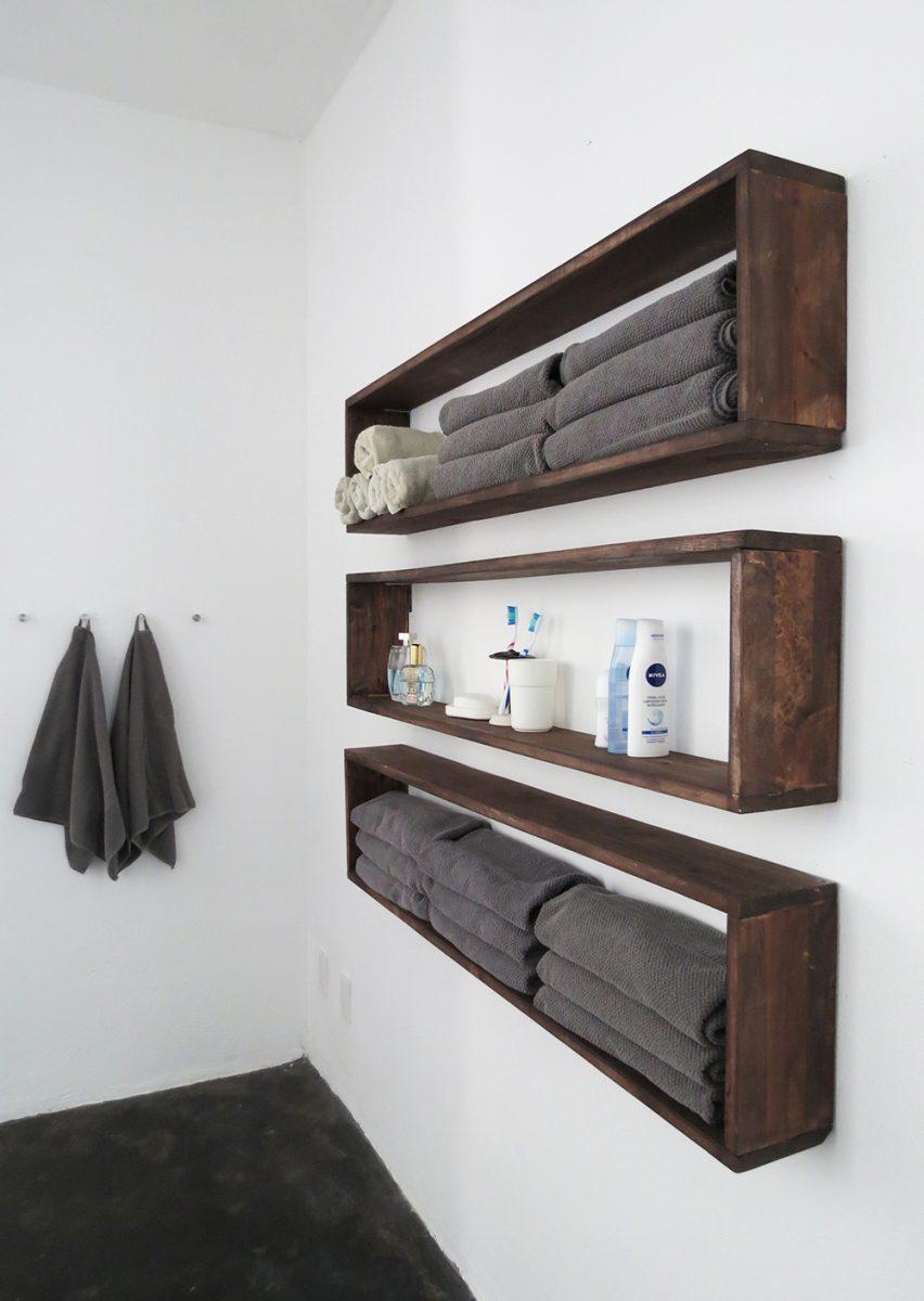 Mensole fai da te - Mensole bagno design ...