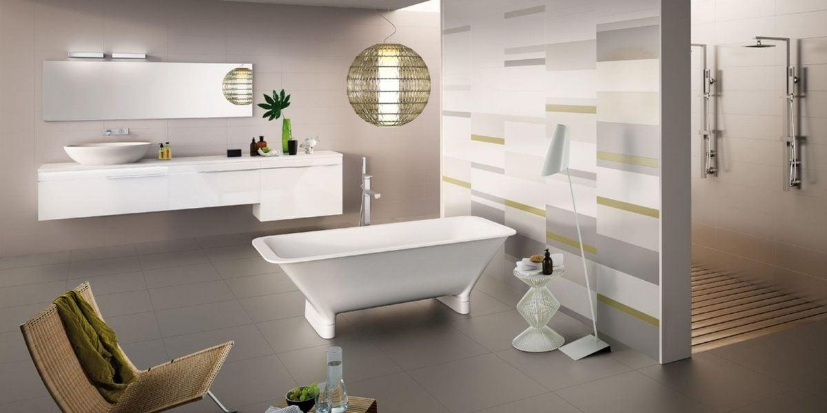 Arredare bagno cieco errori da evitare - Piastrelle moderne bagno ...
